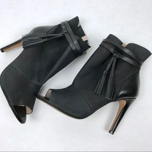 French Connection Peep Toe Booties